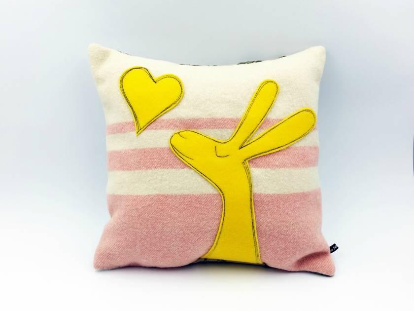 A Little Love Rabbit Cushion
