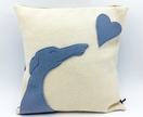 A Little Love Greyhound Cushion Cover & Inner