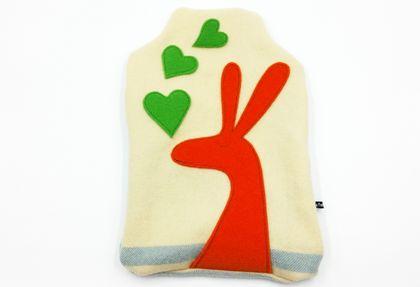 Rabbit Hot Water Bottle Cover