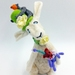 Rabbit and his Bears - Fibre Art Sculpture - NZ Made