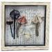Mushroom Specimens - Framed Textile Art - NZ Made