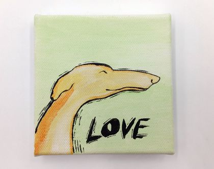 Original Greyhound Wall Art