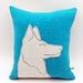 German Shepherd Cushion - Wool - NZ Made
