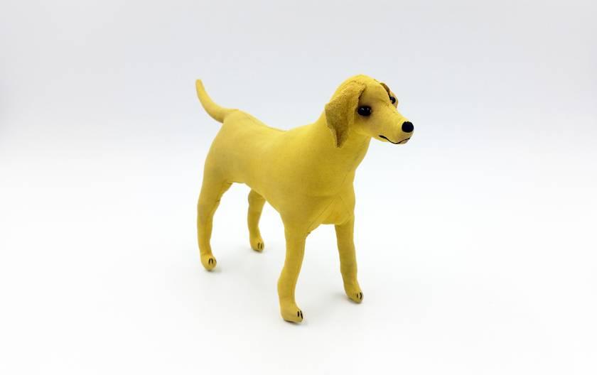 Labrador Dog - SALE - Original Textile Art Scupture