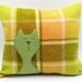 Cat Cushion - NZWool - NZ Made
