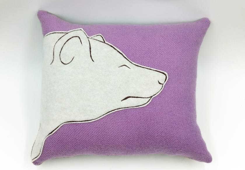 Bear Cushion - NZ Made