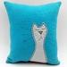 Cat Character Cushion - NZ Wool - NZ Made
