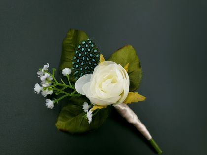Wedding buttonhole - NZ Made