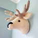 Stag Wall Art - XLarge - Soft Sculpture