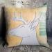 Stag Mohair Cushion - SALE - NZ Made