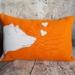Bear Cushion - NZWool & Linen - NZ Made - sale