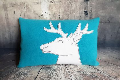 Deer / Stag Cushion - NZ made