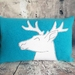 Stag Cushion - NZ made
