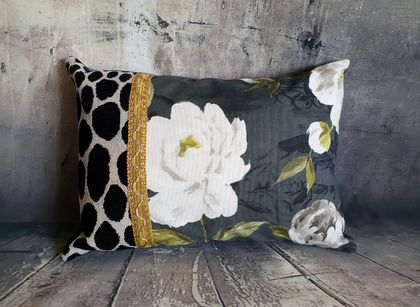 Floral Cushion - NZ Made