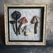 Mushroom Specimens - Framed Textile Art - NZ Made