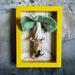 Mushroom - Framed Textile Art - NZ Made