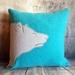 Polar Bear Cushion - NZ Wool & Linen