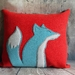 Fox Cushion - NZ made **Sale**
