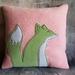 Fox Cushion - NZ made