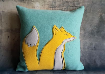 Fox Cushion Sale - NZ made
