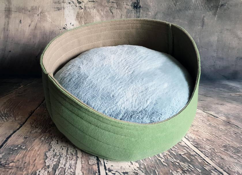 Custom sale for LOUISE - Eco Cat Bed, 2 Cat Cushions - NZ Made
