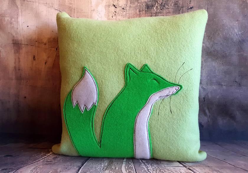 Fox Cushion - NZ made - SALE