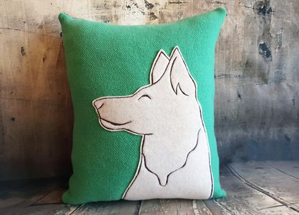 Dog Cushion - Wool - NZ Made