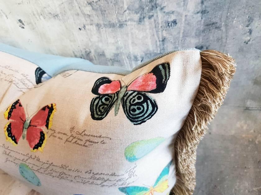 Birds & Butterflies Cushion