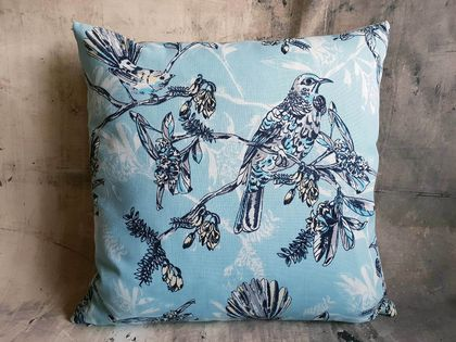 NZ Native Birds Cushion - NZ Made