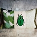 Green Beetle Cushion