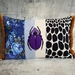 Floral Beetle Cushion - NZ Made - SALE RRP$125
