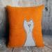 Cat Cushion - NZ Wool - NZ Made