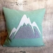 Mountain Cushion - NZWool - NZ Made