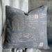 French Grey Cushion - NZ Made