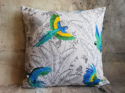 Birds Cushion - NZ made