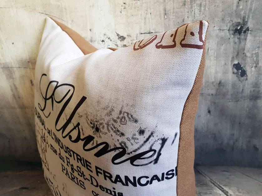 Paris Cushion - NZ Made
