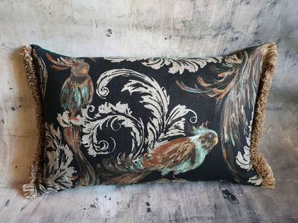 Botanical Birds Cushion - NZ Made - SALE