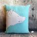 Polar Bear Cushion - NZ made