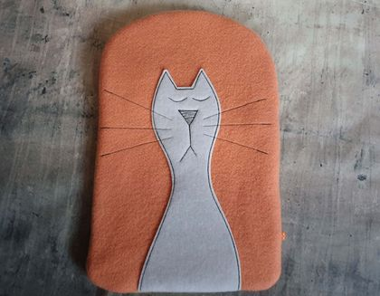 CAT Hot Water Bottle Cover