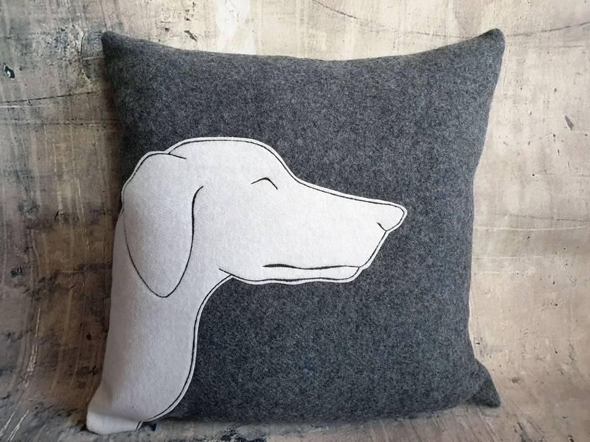 Dog Cushion - NZ Wool - NZ Made