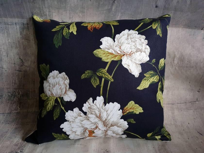 Floral Rose Cushion - NZ made