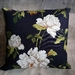 Floral Rose Cushion - NZ made
