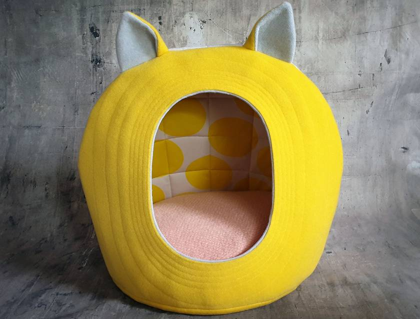 Eco Friendly CAT BED - Large - NZ Made