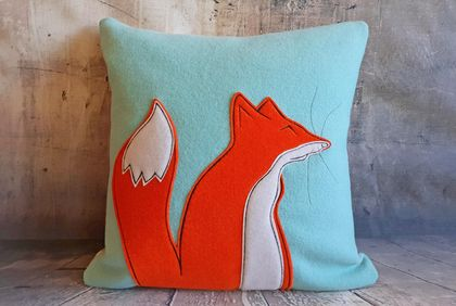 Fox Cushions (2) - NZ Made