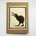 Kiwi Original Woodcut Greeting Card