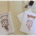 Hankie card - Brown Bear