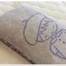 Lavender eye pillow & card - Violet Beret