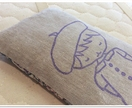 Lavender eye pillow & card - Violet Beret