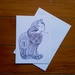 Colour Your Own Card - Cat Design