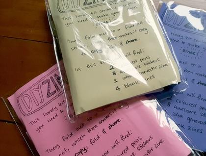 DIY Zine Craft Activity Kit